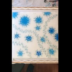 Snowy Winter scene... Painting Process, Silk Painting, Winter Scenes, Wearable Art, Original Art, Hand Painted, Photo And Video, Silk Scarves, Day