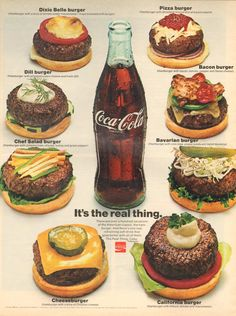 """lostin70s: It's the real thing(Coke, 1971) """"It's a real 'use to... can't no more."""""""