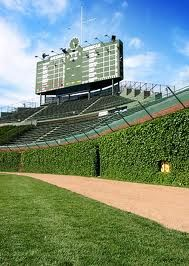 Wrigley Field, Chicago, Illinois // I'm a Cardinals fan, but I can say that there's nothing quite like being at Wrigley..