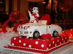 Betty Boop Theme Party Supplies | ... entire party room was decorated in Betty Boop's colors and likeness