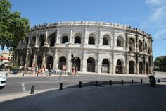 English Historical Fiction Authors: Photo Tour of Nimes Ampitheatre