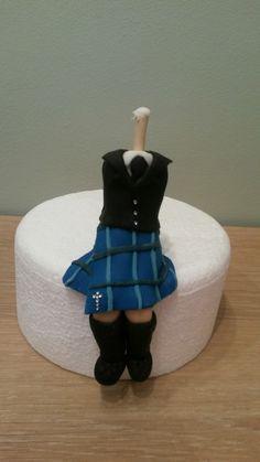 Work In Progress Fondant Icing Groom Cake Topper Sugarcraft Figures Wedding