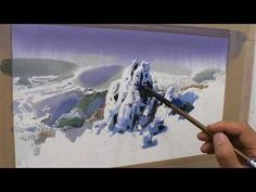 choi's stuio 최병화 수채화 그리기(장미그리기)how to draw a flowe(a rose) - YouTube Watercolor Video, Watercolour Tutorials, Watercolor Techniques, Watercolor Paintings, Watercolor Lesson, Painting Tutorials, Snow Scenes, Videos, Paint Colors