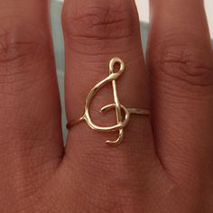 Treble Clef Ring, Music Ring, Music Jewelry by EllynBlueJewelry on Etsy https://www.etsy.com/listing/242889084/treble-clef-ring-music-ring-music