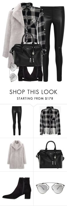 """""""Untitled #3922"""" by london-wanderlust ❤ liked on Polyvore featuring Joseph, Rails, Whistles, Alexander McQueen, Stuart Weitzman and Christian Dior"""