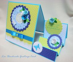 Lin Handmade Greetings Card