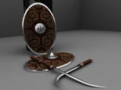 Dacic Falx Swords by Flaviu Nicolae-Popa, via Behance