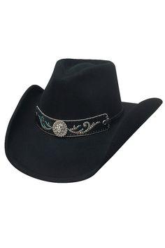 4df0b247486c2 Bullhide Hangin  Out Black Wool Cowgirl Hat