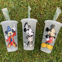 Personalized Coffee Mugs, Personalized Cups, Custom Starbucks Cup, Disney Cups, Steamboat Willie, Custom Cups, Wax Stamp, Disney Day, Glitter Cups
