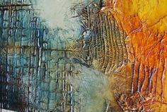 Art painting Abstract by Andrada Textured Abstract by andrada, $600.00