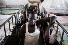 PRISON IN SOUTH SUDAN (30 PICTURES) It's death row in a prison in South Sudan. Most of these people will die because of famine and illnesses. The rest will be executed.