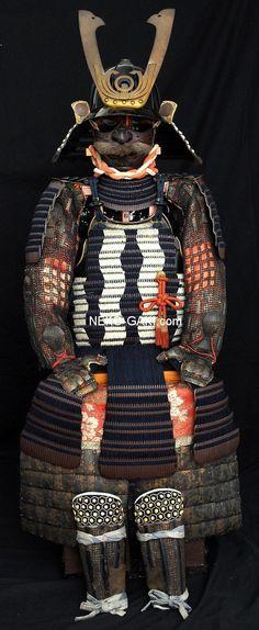 armure hon kozane face Samurai Weapons, Samurai Armor, Medieval Weapons, Japanese Blades, Japanese Sword, Sun Tzu, Katana, Lamellar Armor, Small Sword