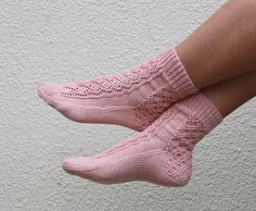 Ravelry: Double Lattice Socks pattern by Grace Quade