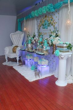 Glam Baby Shower Party Ideas | Photo 1 of 16