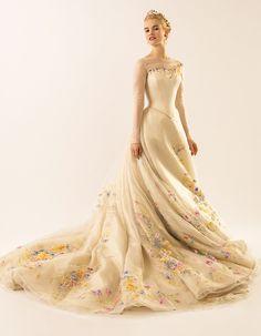 Disney Cinderella movie wedding dress