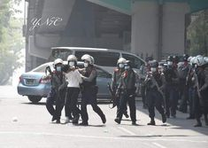 # whats happening in myanmar Military Coup, Yangon, Shit Happens, Police, February, Medicine, University, Student, Medical