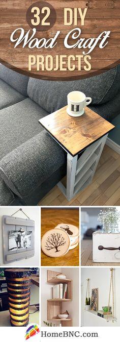 DIY Wood Craft Decor Projects