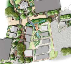 BRE Innovation Park winning landscape plan
