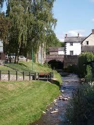 stream in Talgarth, Wales