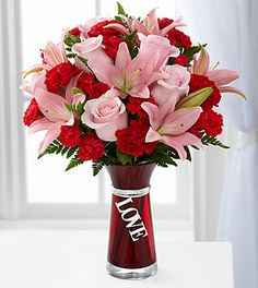 The FTD® Hold My Heart™ Bouquet : Baton Rouge, LA Florist : Same Day Flower Delivery for any occasion Flowers For Valentines Day, Valentine Bouquet, Valentine's Day Flower Arrangements, Fresh Flower Arrangement, Flowers For Everyone, Mini Carnations, Flower Places, Beautiful Bouquet Of Flowers, Flowers Delivered