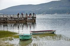 a chilly day at the Knysna lagoon. Knysna, Visual Texture, Feature Article, Continents, Time Travel, South Africa, Followers, Cape, Shells
