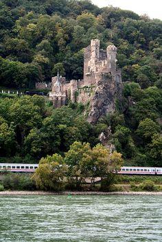 Rheinstein Castle - Trechtingshausen, Rhineland-Palatinate, Germany