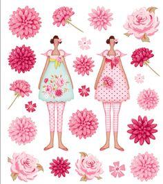 Sickers Flowergarden