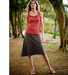 Looking forward to wearing my Eddie Bauer skirts when the weather warms up! So comfy!!!