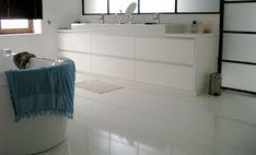 Gietvloer Badkamer Kosten : Gietvloer en betonlook wandstyling gietvloer in de badkamer