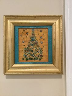 Christmas Mosaics, Christmas Tree, Dremel Projects, Alcohol Inks, Wood Burning, Project Ideas, Pearls, Glass, Frame