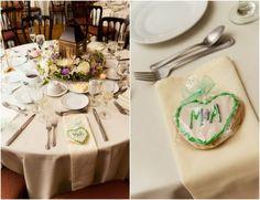 Custom Cookie as a Wedding Favor
