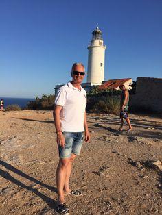 Vicente en Faro de la Mola (Formentera)