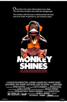 Pin for Later: 25 of the Most Ridiculous Horror Movie Titles on Netflix Monkey Shines (1988) This one's not monkeying around. Watch now!