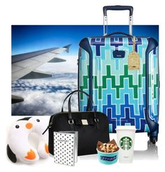 Plane ride by lj-case on Polyvore featuring polyvore, fashion, style, Tumi, Kate Spade, J.Crew, H&M and clothing