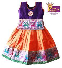 Gorgeous Kids Black and Pink Designer Pattu Pavadai .. BUY Online @ www.princenprincess.in ... #kids #choli #pattu #pavadai #girls #silk #traditional #designer #creative #indian #lehenga #kidswear #skirt #trendy #children #clothes #new #stylish #dresses #partywear #apparel #fashion #readymade #girl #dress #langa #voni