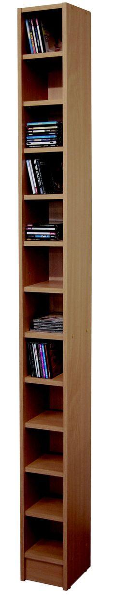 Regál THOMAS 01, buk Regál TOMAS 01, buk. Rozměry š./hl./v. 20/17/202 cm. Materiál LTD. Záruka 24 měsíců. Materiál zadní stěny: sololit 2,5 mm 720 Kč Tall Cabinet Storage, Bookcase, Shelves, Furniture, Home Decor, Shelving, Decoration Home, Room Decor, Book Shelves
