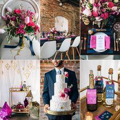 Modern Pink & Navy Downtown Loft Wedding | Ybor City | Tampa Wedding Photographer » Tampa Wedding Photographer | Renee Nicole Design + Photography | Tampa, Orlando, Sarasota, Florida and Destinations Worldwide