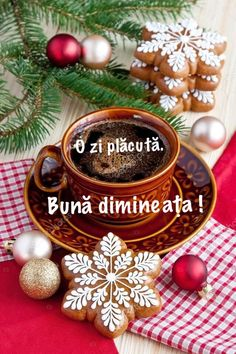 Good Morning Friends, Good Morning Greetings, Coffee Time, Messages, Christmas Ornaments, Anul Nou, Holiday Decor, Poster, Crafts