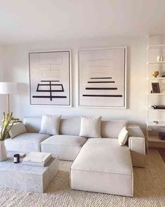 Home Room Design, Decor Interior Design, Interior Design Living Room, Living Room Designs, Modern Living Room Design, Modern White Living Room, Beige Living Rooms, Modern Decor, Modern Design