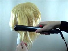 Tutorial: Styling with heat - Taming a wig