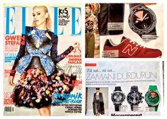 Modayı seviyoruz! :)   Atop saatleri ELLE Türkiye dergisinin Şubat sayısında!   www.AtopTimeZone.com #moda #alışveriş #elle #atop