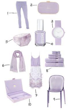 via @kennymilano #idemtikosay life in  lilac!