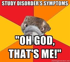 that's me, The Adventures of Psychology Student Platypus