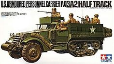 Tamiya Half Track Personnel Carrier M 3 9 Figures for sale online Tamiya Model Kits, Tamiya Models, Panzer Iv, Jeep Willys, Plastic Model Kits, Plastic Models, Luftwaffe, Patton Tank, Armoured Personnel Carrier