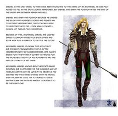 Former Ange, now Archangel Gabriel