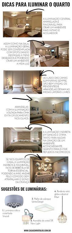 Casa Sem Rótulos, dicas de iluminação, como iluminar sua casa, iluminação geral, como iluminar seu quarto, dicas para quarto, iluminação quarto