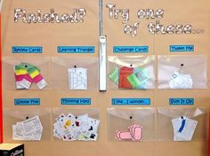 Description:Printables for a classroom display idea providing extension tasks and review activities. Created by:@misstait_85 Category: [...]