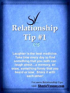 Relationship Tip #1: Laughter is the Best Medicine for your Relationship - Sherie Venner | NLP Coach | NLP | Relationship Coach | Relationship Tips