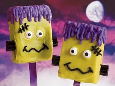 Frankenstein Brownie Pops - We love this! (Note, not ours just sharing something nice!)