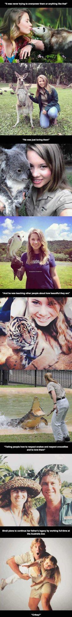 "Meet Bindi- Steve Irwin's daughter ""The Crocodile Hunter"""